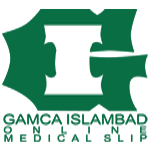 Gamca Islamabad - Gamca medical Appointment Slip and